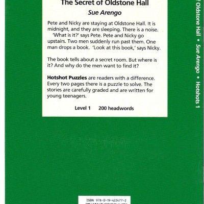 'The Secret of Oldstone Hall' - A Level 1 Hotshot Puzzle Reader.