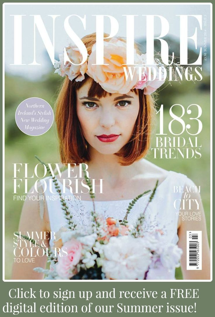 Click to sign up to our new newsletter and you will receive a FREE digital edition of our summer issue https://www.facebook.com/InspireWeddingsMagazine/app_100265896690345