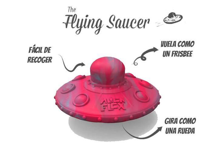 Platillo volador de juguete para perros - Menudoanimal.com Tienda 100% solidaria