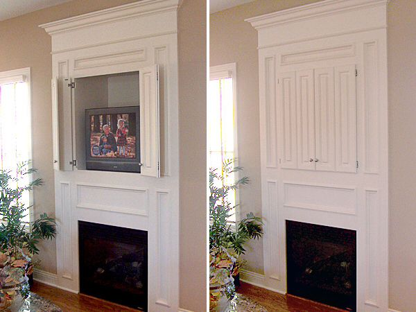 36 best flatscreen how to hang it images on pinterest Hide fireplace ideas