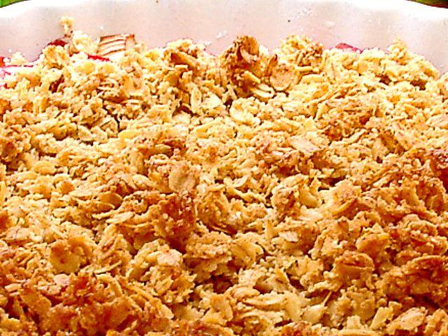 Smulpaj med rabarber (kock recept.nu)