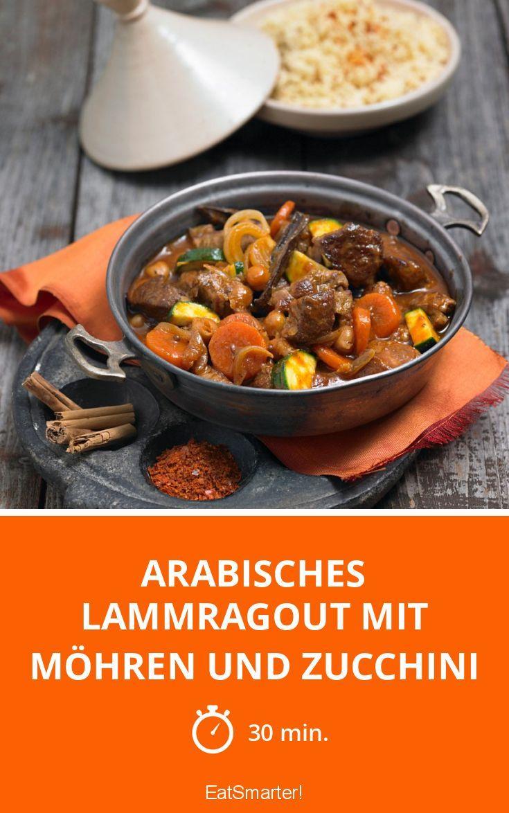 Arabisches Lammragout mit Möhren und Zucchini - smarter - Zeit: 30 Min. | eatsmarter.de