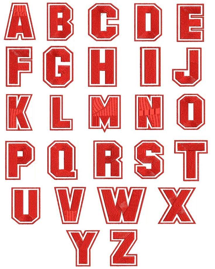 Basketball Font Machine Embroidery Designs Font Patterns Sports | sewingnetwork - Patterns on ArtFire