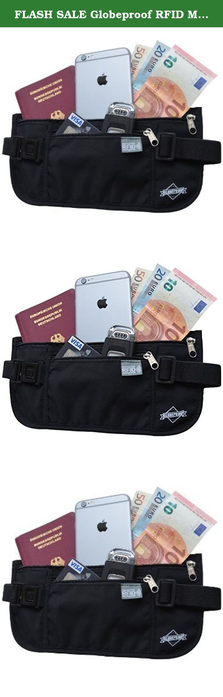 FLASH SALE Globeproof RFID Money Belt for Travel - Waist Stash / Fanny Pack / Hidden Wallet / Travel Pouch for Women & Men with Sturdy Buckle, Strong Zippers & Anti Identity Theft Protection!. The Globeproof Money Belt - Travel Safely! • Do you hate always checking for your valuables when traveling? • Are you sick of having your long awaited trips ruined by pickpockets? • Do you need a convenient yet safe way to carry your money in amusement parks, on hikes or runs? Introducing the...