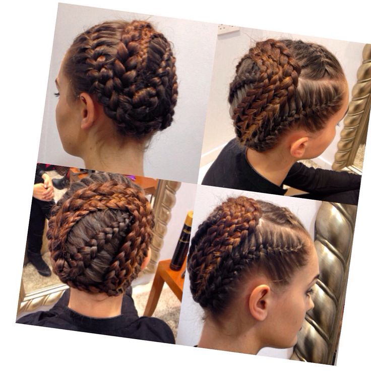 Braided look for arnots event ! #braids #styleclub #redkedobsessed