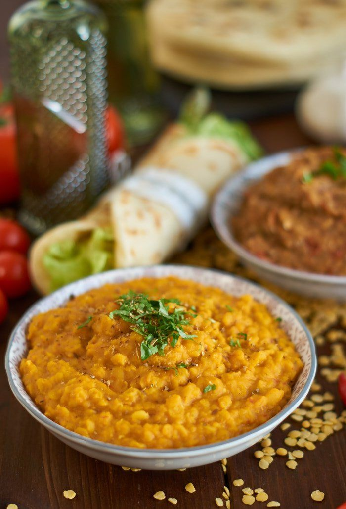 indisches gelbe Linsen Dal | Indian Yellow Lentil Dal