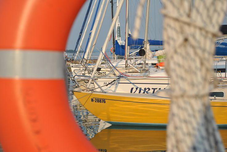 Boats by Csipak Csilla on 500px - Szigliget, Balaton