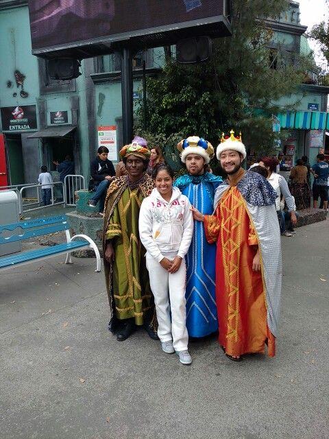 Los #reyes #magos en #sixflags #méxico www.turismoenveracruz.mx #megusta