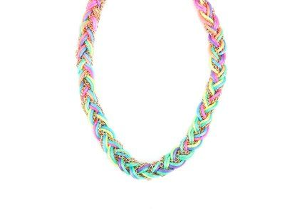 Barevný náhrdelník OJJU Rainbow