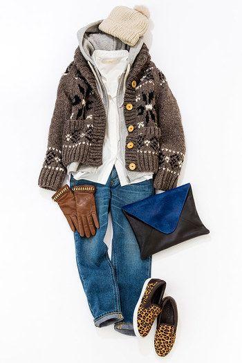 ボーイズライクな着こなしが今の気分♡かっこかわいい秋冬ファッション
