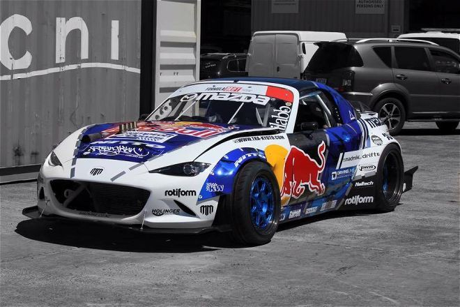 Mad Mike Whiddett S Formula Drift Spec Mazda Nd Miata Mx 5