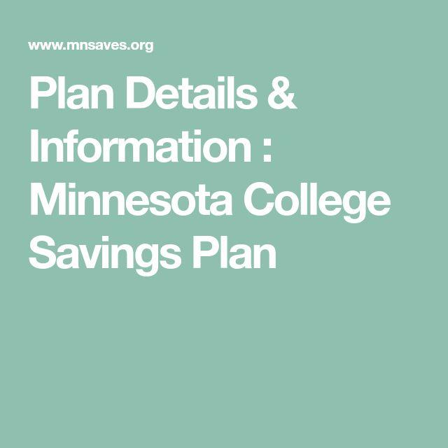 Plan Details & Information : Minnesota College Savings Plan