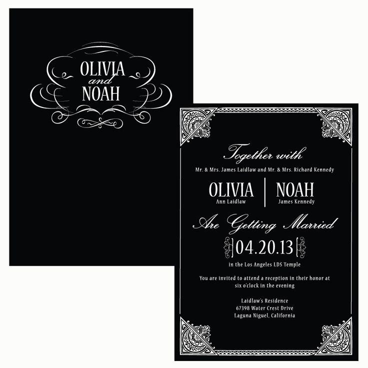 58 best Invitation images on Pinterest Invitations, Wedding - best of wedding invitation maker laguna