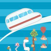 TuneTrain - Bestäm tågets färdväg och komponera melodier