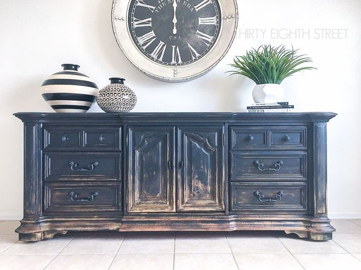 Balayage Inspired DIY Painted Furniture