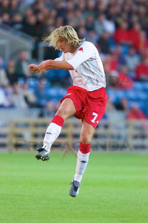 Norway 3 Wales 2 in Sept 2001 in Oslo. Robbie Savage scored after 10 minutes to give Wales the lead in the World Cup qualifier.