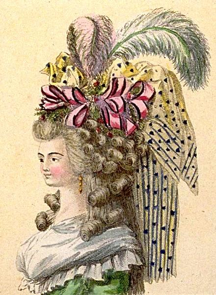 Oct 1786 Hat Fashion - Magasin Des Modes Nouvelles