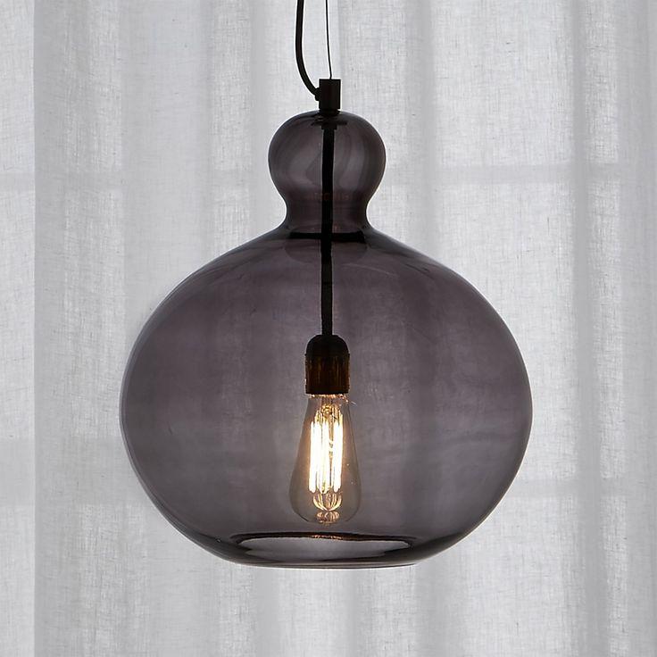 Free Shipping Shop smoke glass pendant light