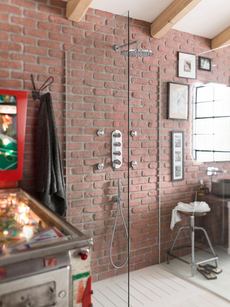 25 best ideas about paroi douche on pinterest paroi paroi de douche and p - Stickers style industriel ...