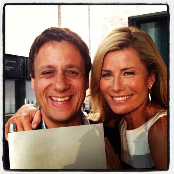 At the #astras nominations: @andrewtwinter & @Deborah Hutton ping @astraevent #sydney Photo by eckfactor