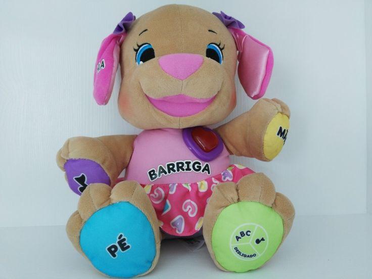 Portuguese Arabic Japanese Swedish Lithuanian Speaking Singing Musical Dog Doll Baby Educational Toys Boy Girl Stuffed Dog Toy