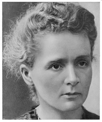 Marie Curie (7 November 1867 – 4 July 1934) was a Polish physicist and chemist, working mainly in France, who is famous for her pioneering research on radioactivity. She was the first woman to win a Nobel Prize, the only woman to win in two fields, and the only person to win in multiple sciences.