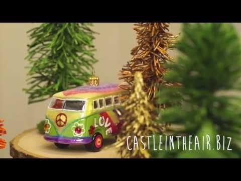 Crepe Paper Pine Trees - YouTube