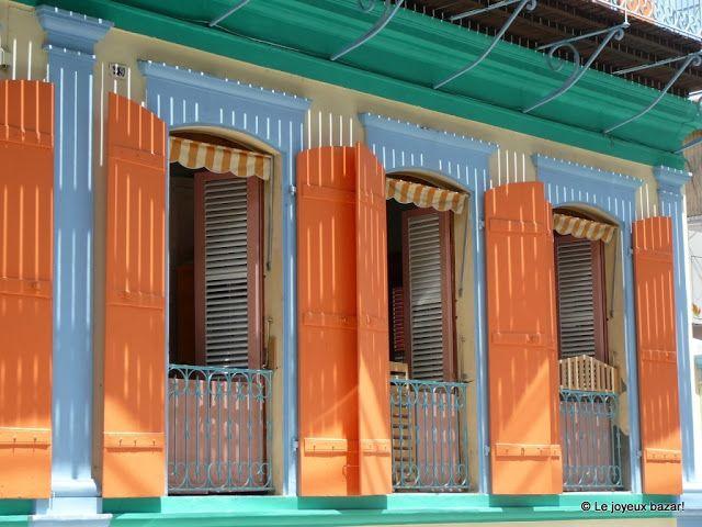 Fenêtres de maison à Pointe à Pitre