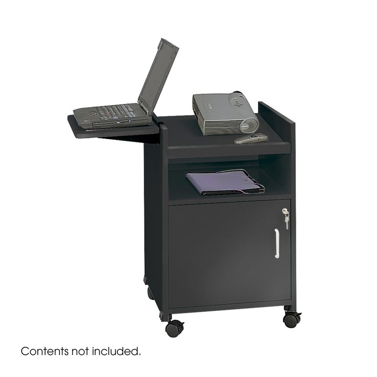 Safco Projector Stand - Black