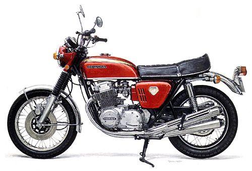 Honda DREAM CB750 FOUR もっと見る