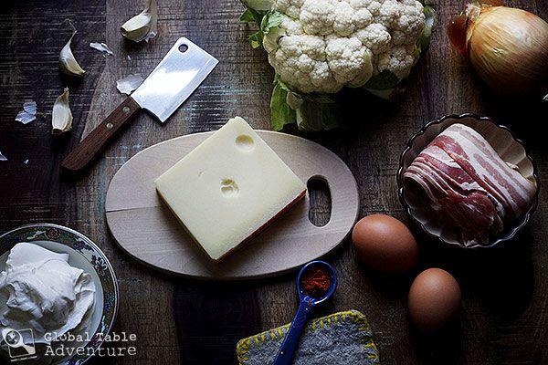 recipe for transylvanian cauliflower casserole with bacon amp cheese ...