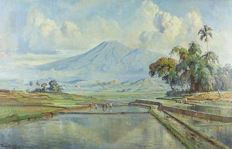 Ernest Dezentjé - Natte rijstvelden