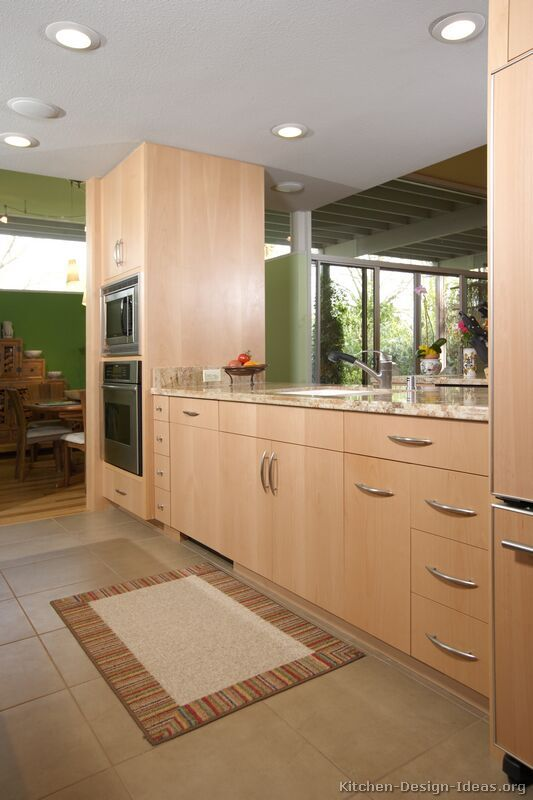 Kitchen Idea Of The Day Modern Light Wood Kitchens Light Wood Kitchens