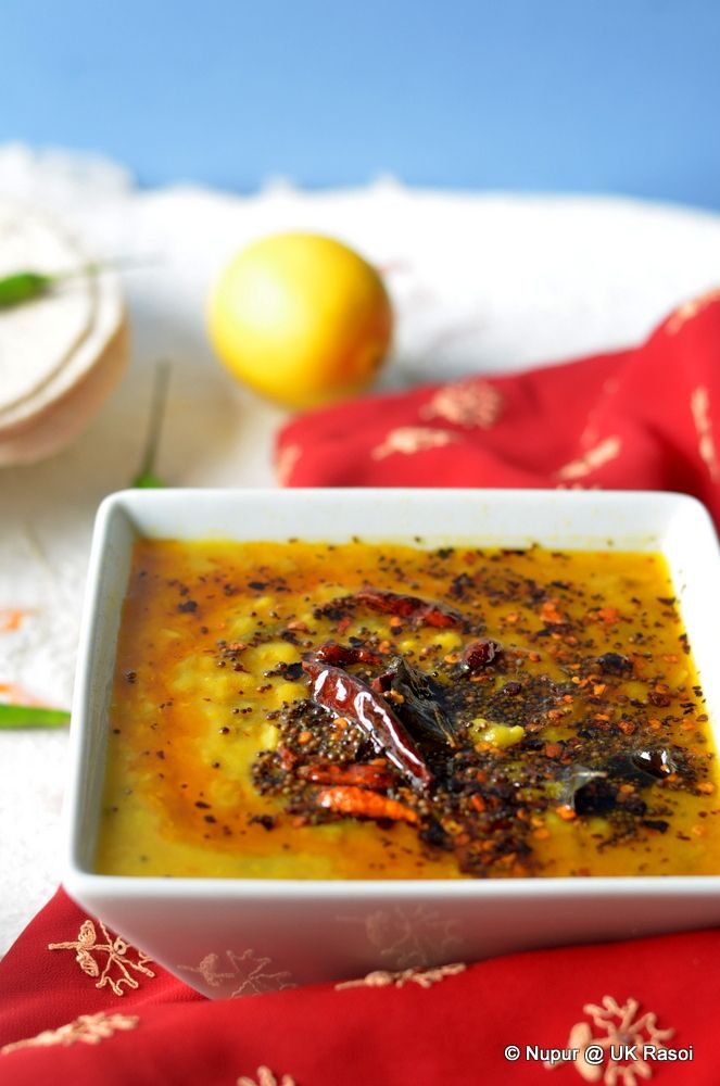 how to cook yellow dal tadka