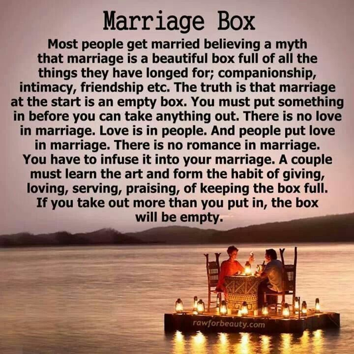 Marriage box Marriage box, People getting married