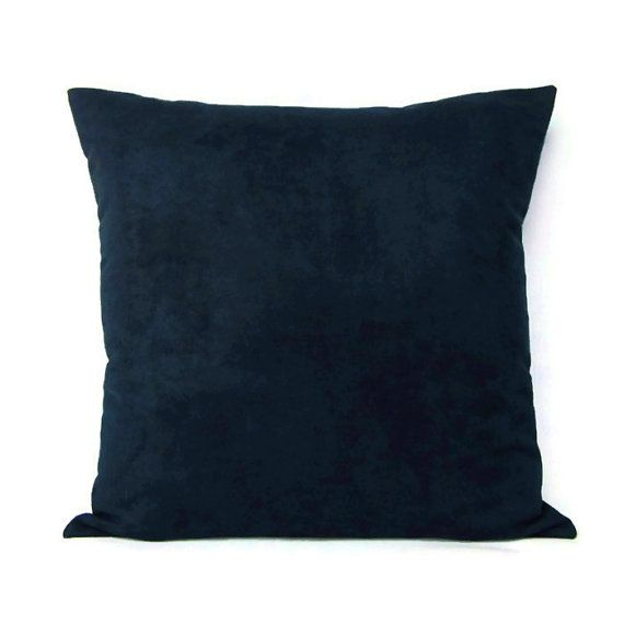 Blue Microsuede Throw Pillows : 27 best Navy Blue Indigo and White Home Decor images on Pinterest Home ideas, At the beach and ...