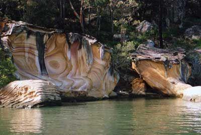 Hawkesbury River sandstone, NSW