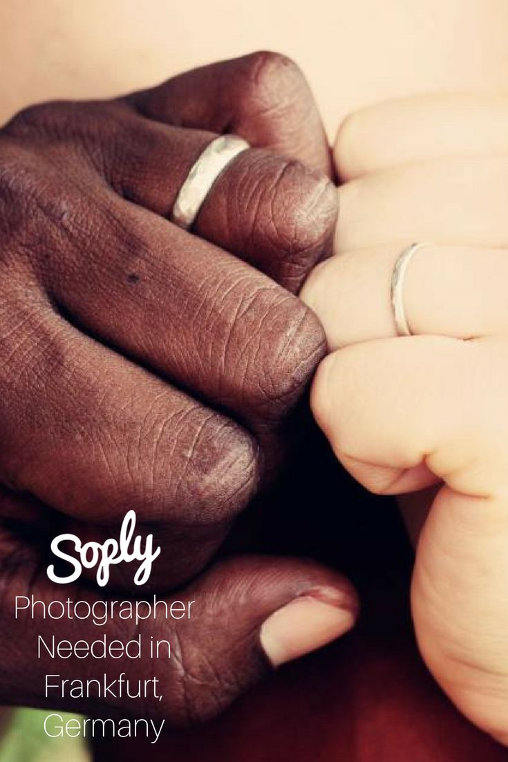 #Photographer needed for a #wedding on September 8th in #Frankfurt, #Germany. See the #photography job and apply by clicking the pin!