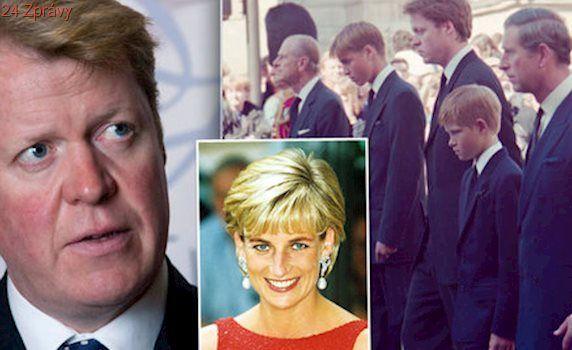 Nechutná pravda o pohřbu Diany: Williama a Harryho přinutili jít za rakví, říká její bratr