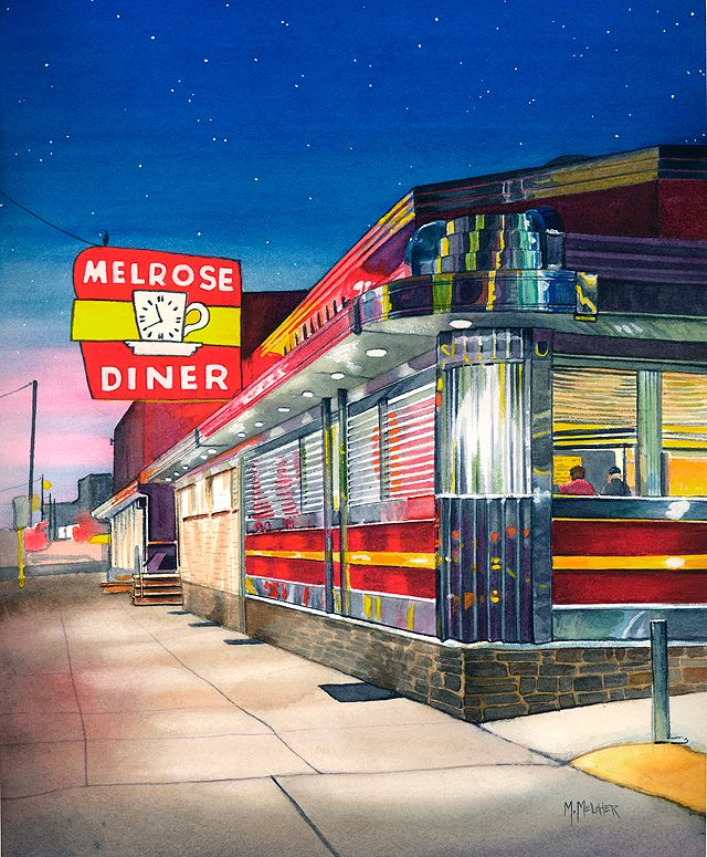 Melrose Diner, South Philadelphia....great times lots of memories!! MP-1 lol