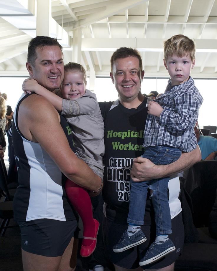 Wes, Dean and kiddies