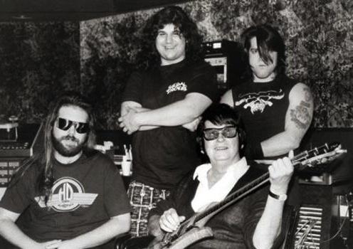Rick Rubin, Glenn Danzig & Roy Orbison working on  Life Fades Away for the 'Less Than Zero' soundtrack.: Beats, Glenn Danzig, Music Misfits, Roy Orbison Life Faded Away, Misfits Bands, Danzig Misfits, Rick Rubin, Misfits Samhain Danzig, Greatest Music