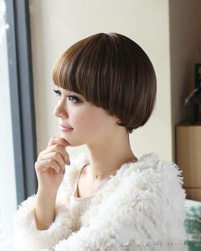 Sweet Girl Mushroom Hairstyles - Hairstyles Trend