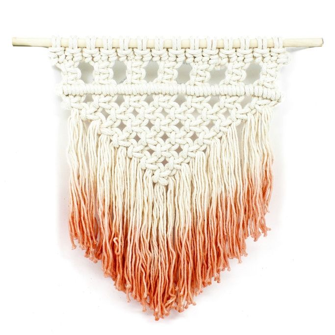 Dip Dyed Macrame Wall Hanging | www.mooreaseal.com
