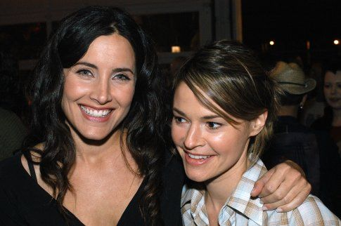 Leisha Hailey and Rachel Shelley---The L Word