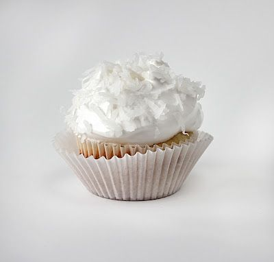 Coconut Cream Pie Cupcakes.