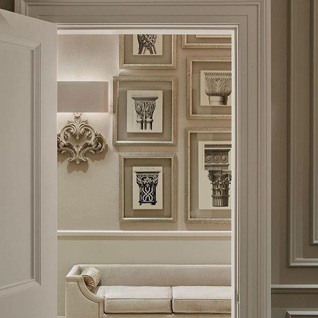 Pin By Va Interior Design On Living Room Decor Ideas In 2020 Interior Design Hallway Classic Interior Grey Interior Design