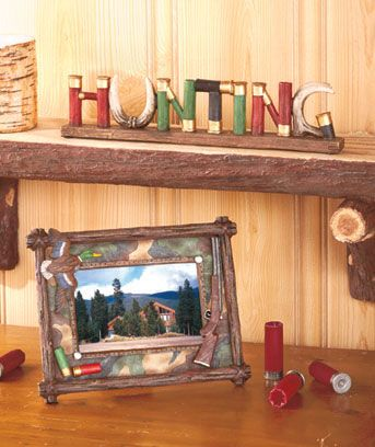 Show Your Love Of Hunting With This Shotgun Shell Home