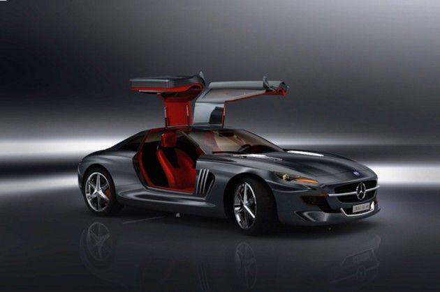 Mercedes 300SL 'Gull-Winged Bird of Prey' Concept