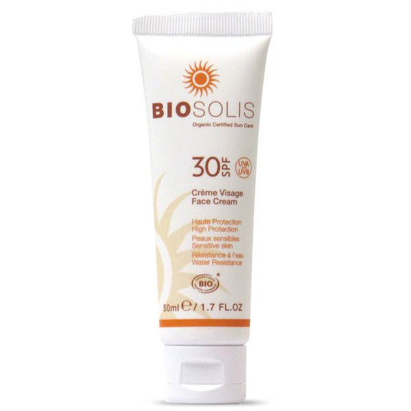 La Vie Naturelle Crème solaire visage, crème solaire, Biosolis, http://www.la-vie-naturelle.com/fre/2/creme-visage-spf30